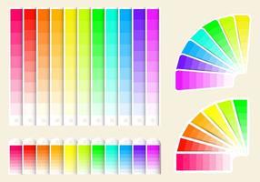 Freie Farbmuster Vektor