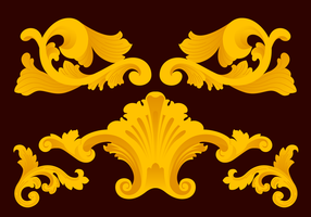 Acanthus Vector Ornaments