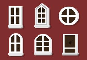 Gebrochene Fenster Vektoren