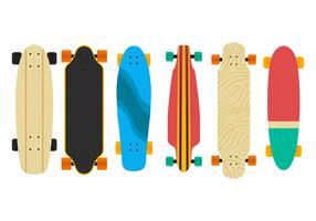 Vecteurs Longboard
