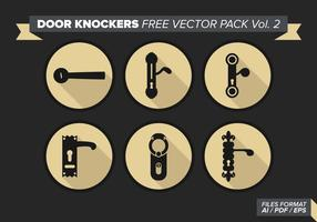 Door Knockers Free Vector Pack Vol. 2