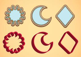 Cookie Cutter Vector Set C