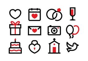 Gratis Trouw Icon Set
