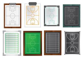 Free Playbook Icons Vector