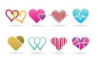 Hjärta logotyper