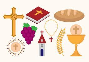 Freie Eucharistische Ikonen Vektoren