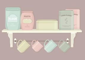 Kitchen Elements Vector Set