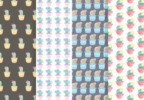 Cactus Vector Pattern Set