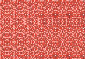 Decorative Outline Pattern Background