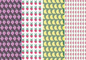 Vector Fruit Pattern Set