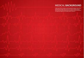 Heart Monitor Background vector