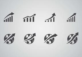 Freies Wachstum Geschäftsvektor