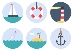 Free Nautical Elements Vector