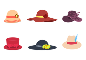 Gratis Ladies Hat Vector