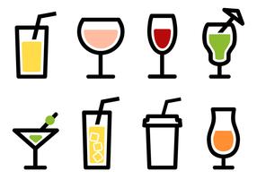 Vector libre de la bebida