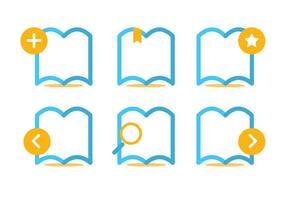 Leer más Icon Set Vector