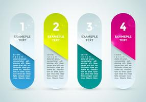 Puntos de bala Elementos de Infografía Vector 3