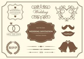 Free Wedding Ornament Vectors