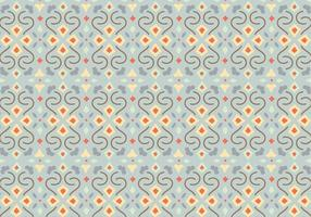Floral Mosaic Pattern Background vector