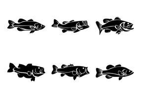 Vector de pescado bajo