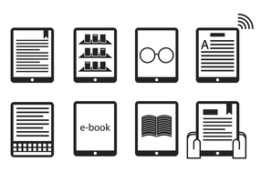 Gratis Ereader Icon Vector