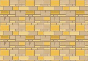 Graphique vectoriel de mur de pierre gratuit 2