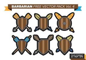 Barbaarse Gratis Vector Pack Vol. 4