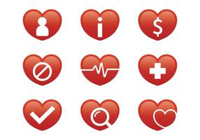 Medical Heart Icon vector