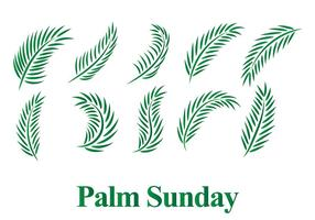 Gratis Palmzondag Vector