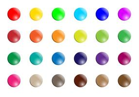 Smarties Button Vector