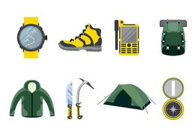 Vettore di alpinista