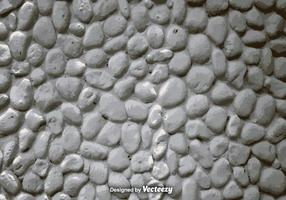 Vector realista pared de piedra blanca