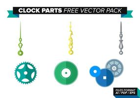 Clock Parts Free Vector Pack