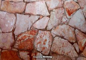 Vector Realistic Stonewall Background