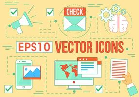 Kostenlose Digital Media Vector Icons