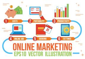 Free Online Marketing Vector