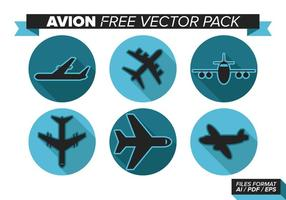 Avion fri vektor pack