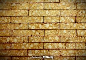 Gebrochene Ziegelmauer Vektor Hintergrund