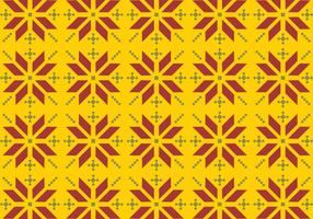 Vector Songket Pattern