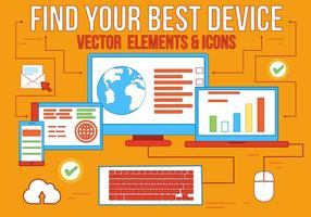 Libre Mejor Dispositivo Vector