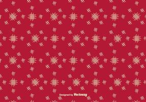 Vector de fondo rojo con elementos simples Crosshatch