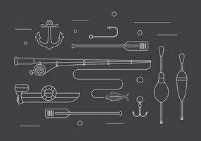 Fiske Vector Illustrationer