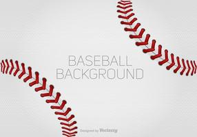 Vector Baseball Laces Background for Design