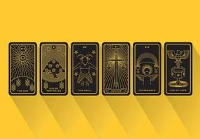Tarot vector cards