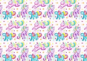 Vector Unicorn Pattern gratuito