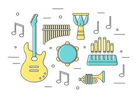Free-vector-musical-instruments