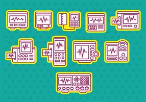 Heart Monitor Icons
