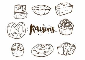 Raisins Cake Set