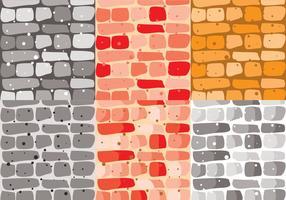 Vetor de tijolos de pedra