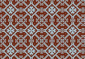 Crosstitch Motif Pattern Background